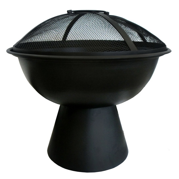 Round Alaska  Steel Fire Pit No Colour