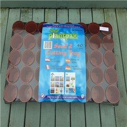 Seed and Cutting Tray with 40 Pots BOGOF