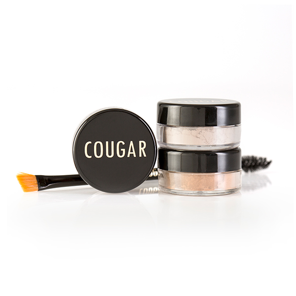 Cougar Pure Mineral Professional Brow Kit 3 x 1g No Colour