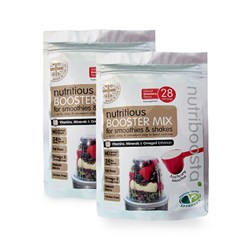 Nutriboosta for Smoothies and Shakes 210g Strawberry BOGOF