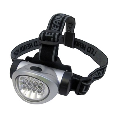 Uni-Com Ultra Bright 10 LED Head Torch