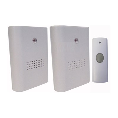 Uni-Com Twin Pack of Wire-Free Portable Door Chimes
