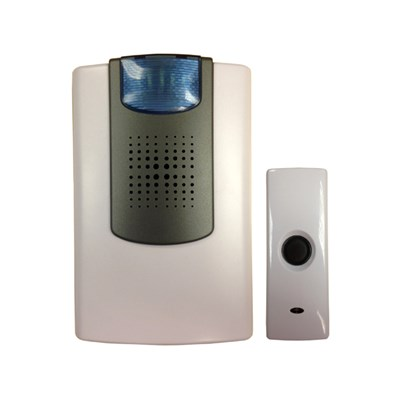 Uni-Com Wire-Free Flashing Door Chime