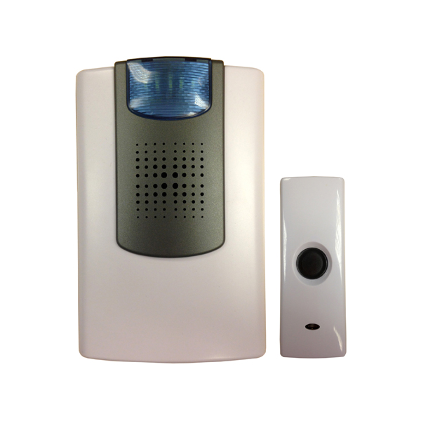 Uni-Com Wire-Free Flashing Door Chime No Colour