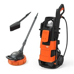 Vax VPW2S 2000w Pressure Washer with Built In Steam Cleaner and Patio and Outdoor Cleaning Kit