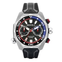 Brera Orologi Gents Pro Diver Chronograph Watch with Silicon Strap