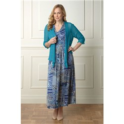 Lavitta Patchwork Paisley Maxi Dress