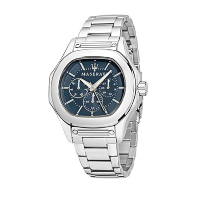 Maserati Gents Fuoriclasse Chronograph Watch with Stainless Steel Bracelet Strap