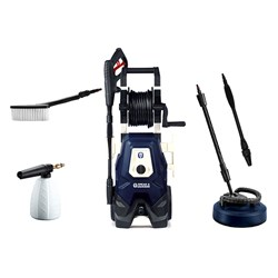 Spear and Jackson 2000w Pressure Washer with Turbo Lance, Vario Lance, Patio Cleaner, Super Foamer and Wash Brush