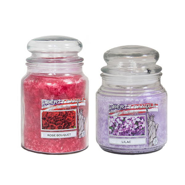 Liberty Candle - 22oz and 14oz Candle Floral