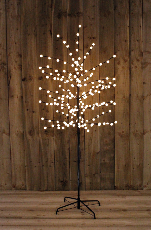 5FT Warm White Berry Tree Indoor or Outdoor Use No Colour