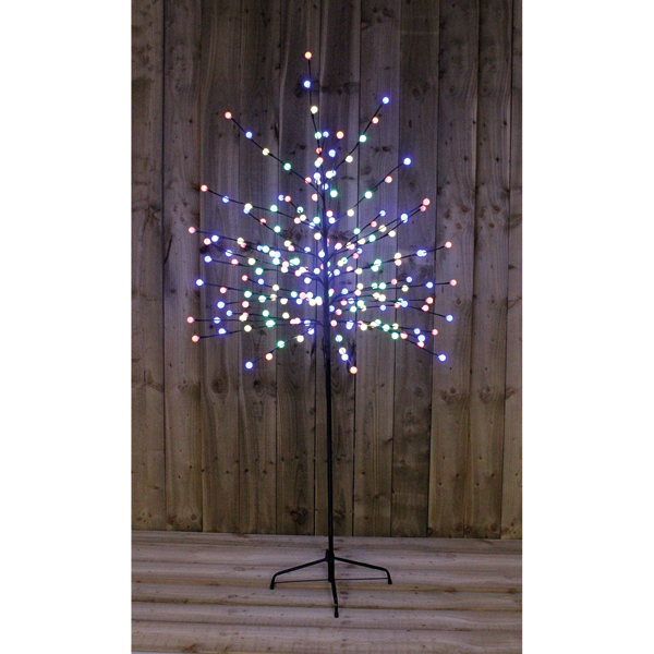 5ft Multi Coloured Berry Tree Indoor or Outdoor Use No Colour