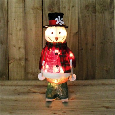 Motion Snow Man Skiing 61cm - Indoor Use Only