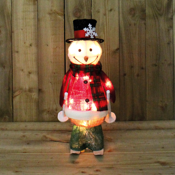 Motion Snow Man Skiing 61cm - Indoor Use Only No Colour