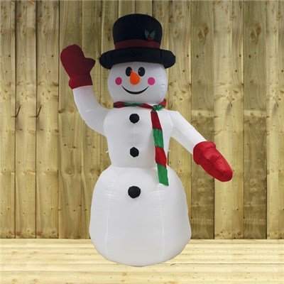 2.4m Inflatable Snowman (Suitable for Outdoor Use)