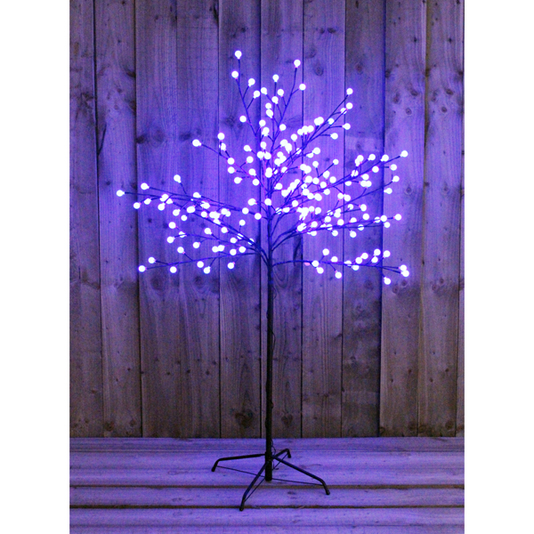 5 ft LED Blue Berry Tree Outdoor or Indoor Use No Colour