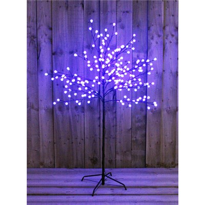 5 ft LED Blue Berry Tree Outdoor or Indoor Use