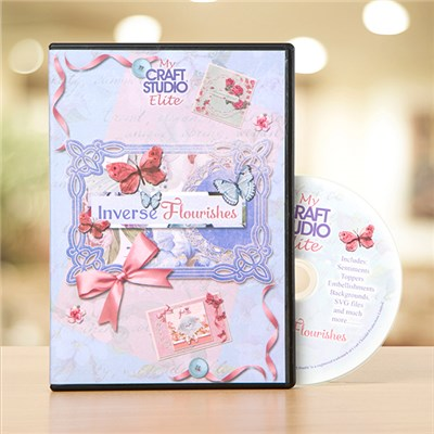 Tattered Lace Inverse Flourish CD ROM