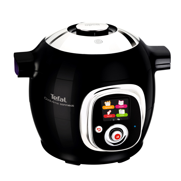 Tefal Cook4Me Connect One-Pot Digital Cooker No Colour