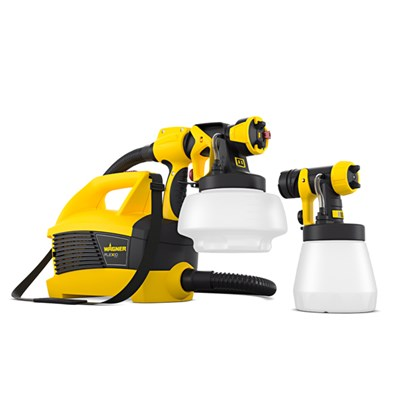 Wagner Universal Sprayer W690 Flexio with 1800ml Wall Attachment and 800ml Wood and Metal Attachment