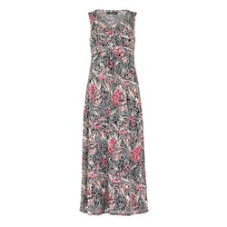 Bonmarche Floral Burnout Maxi Dress 52in
