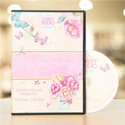 Victoria Nelson Spring into Summer CD-ROM