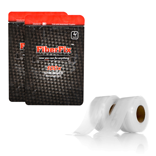 FiberFix Twin Pack - 1inch and 4 inch wi No Colour