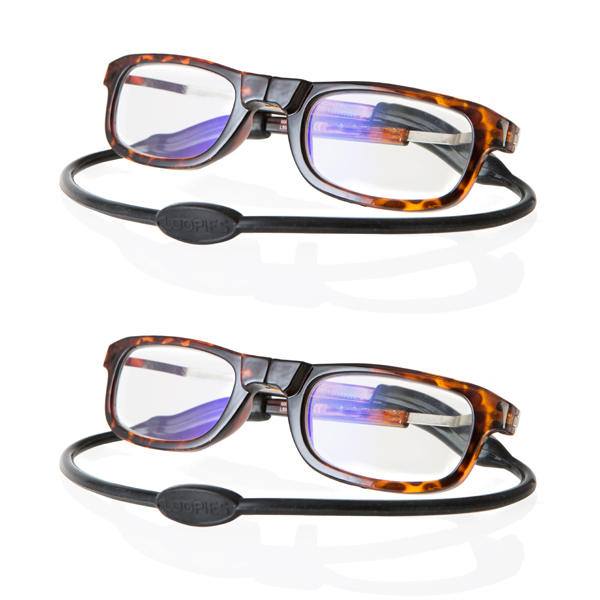 Loopies Reading Glasses - Twin Pack No Colour