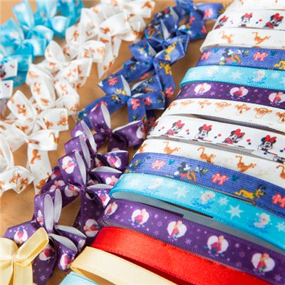 Disney Ribbon and Ribbon Bow Assortment 55pcs