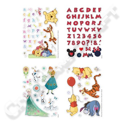 Disney A6 Clear Stamp Assortment 4 Pack
