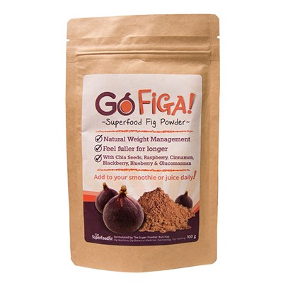 Go Figa Super Food Fig Powder (100g) by Rick Hay