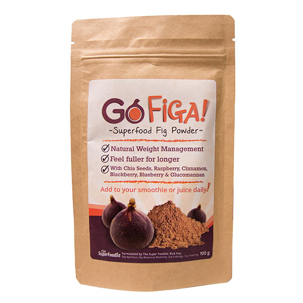 Go Figa Super Food Fig Powder (100g) by Rick Hay No Colour