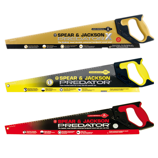 Spear and Jackson Triple Pack Saw Bundle No Colour