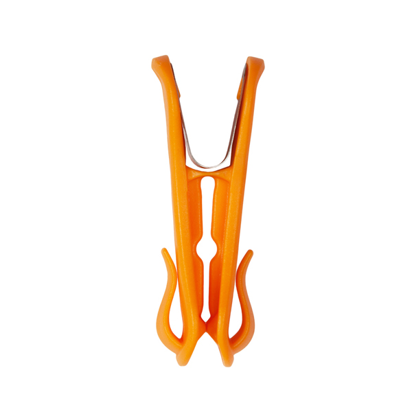 Hegs Pegs with a Hook 18 Pack Orange