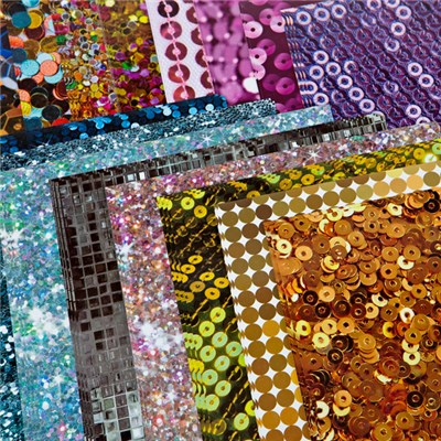 Create and Craft Pack of 40 A4 Sequin Card