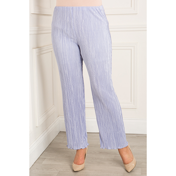 Anamor Pleated Trouser Denim