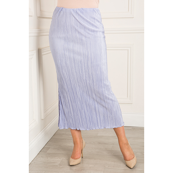 Anamor Pleated Skirt Denim
