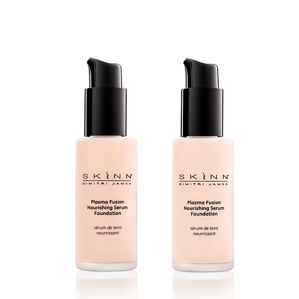 Skinn Plasma Fusion Serum Foundation Duo 2x 30ml Light
