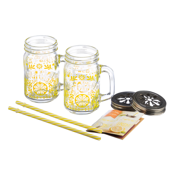 Kilner Lemonade Set Twinpack No Colour