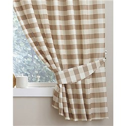 Chamonix Gingham Check Kitchen Curtains