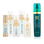 Elizabeth Grant Skincare Serums and More 5 Piece Selection with Bonus Supreme Essence of Torricelumn 50ml