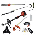 BMC Triumph Multitool with Attachments and FREE Service Kit and Additional 1 Year Warranty