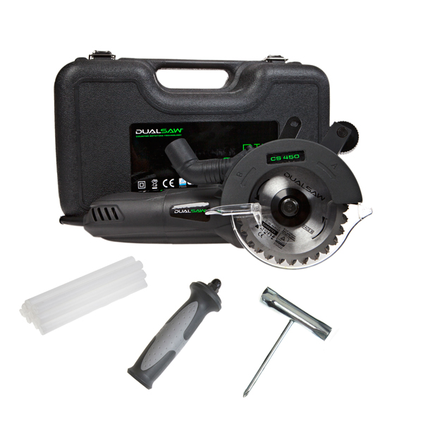 Dual Saw with Multipurpose Blades, 10 Lubrication Sticks, T-Wrench Multi-tool, Hard-Shell Protective Case No Colour