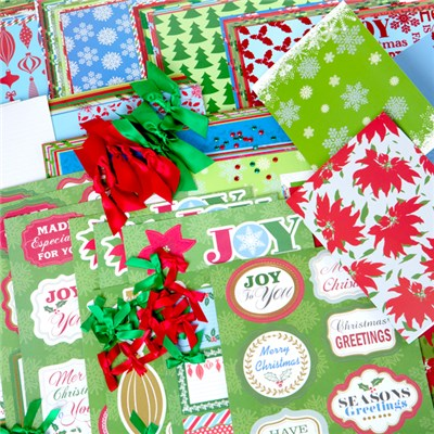 Create and Craft Fabulously Festive Card Kit