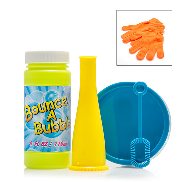 Bounce A Bubble with Refill Kit No Colour
