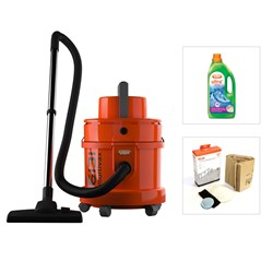 Vax 6131T 3-in-1 Multivax Wet/ Dry Vacuum and Carpet Washer plus Maintenance kit and 1.5L Ultra+ Solution