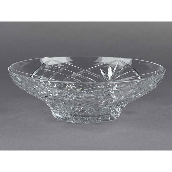 RCR Laurus Crystal Melodia Centre Piece Bowl No Colour