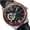 Spinnaker Gents Sorrento Automatic Watch with Open Heart Detail and Genuine Leather Strap