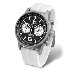 Vostok Europe Gents Expedition North Pole 1 Limited Edition Chronograph Watch with Silicon Strap