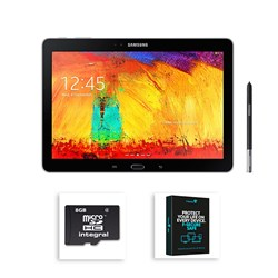 Samsung Galaxy Note 10.1 inch 16GB Tablet with One Year Security Software and 8GB Micro SD Card